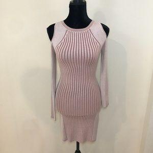 Express Nude Pink Sweater Dress!